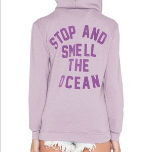 WILDFOX Zip Up Hoodie - Stop and Smell The Ocean